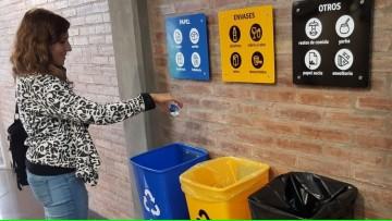 En FCM, y en toda la UNCUYO, vamos a separar residuos y cuidar el medio ambiente