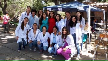 Campaña de prevención en Carrodilla durante las actividades del Viernes Santo