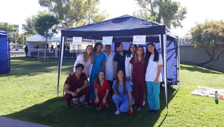 Estudiantes de la FCM en la 5ta. Edición de la Media Maratón de la Ciudad de Mendoza