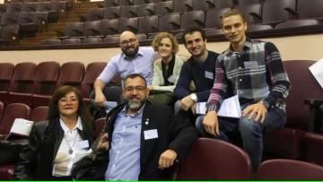 Cuatro estudiantes de Medicina de la FCM participaron de Jornadas FAFEMP 2019