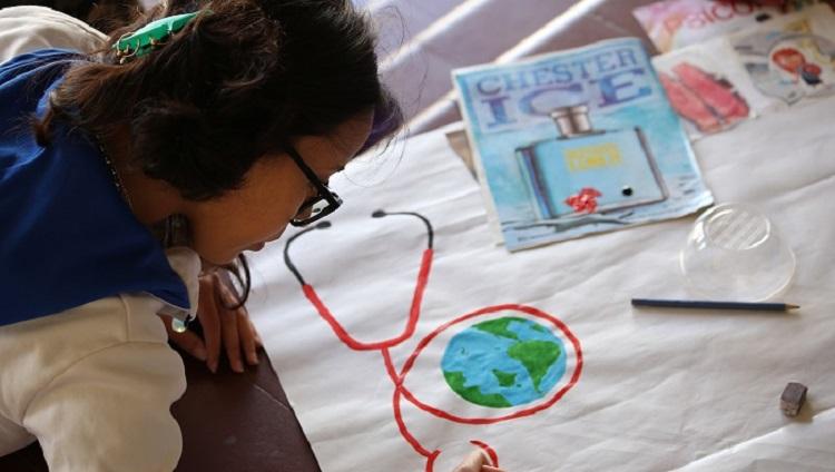 Estudiantes de Enfermería compretidos/as con la sociedad y la salud a través del arte