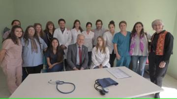 La FCM y la inauguración de un consultorio para personas en situación de calle