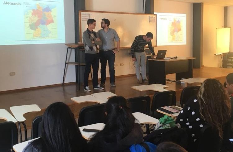 Estudiantes alentaron a postular a Intercambio Internacional para el 1er semestre 2019
