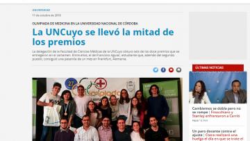 Convocan a postular a las XXVIII Olimpíadas Académicas de Estudiantes de Medicina en Córdoba