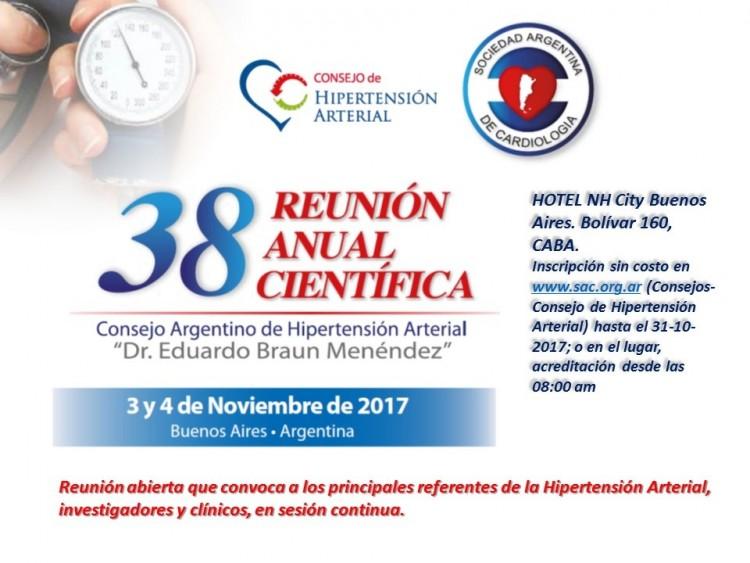 Reunión Anual del Consejo Argentino de Hipertensión Arterial