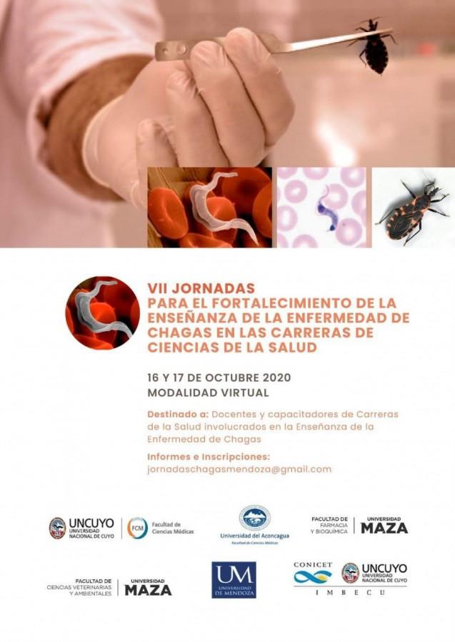 VII Jornadas de Fortalecimiento de la Enseñanza de la Enfermedad de Chagas