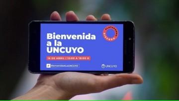 """Gran celebración virtual de """"Bienvenida a la UNCUYO"""" para ingresantes 2021"""