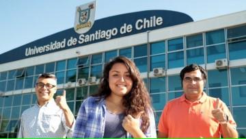 Convocatoria abierta para el Programa de Becas para Extranjeros en la Universidad de Santiago de Chile