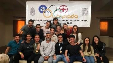 Volvieron, con otra actuación memorable en las XXVIII Olimpíadas Nacionales de Medicina