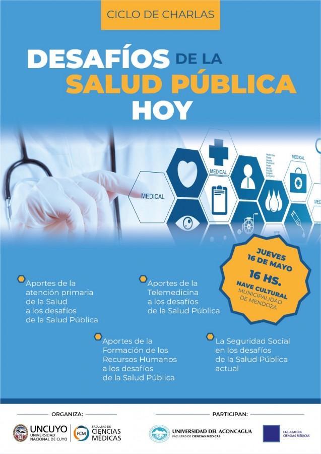Ciclo de charlas: Desafíos de la Salud Pública hoy