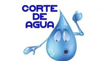 Corte programado del suministro de agua potable en FCM