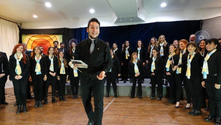 Regresa el Coro FCM de su gira artística por Bariloche