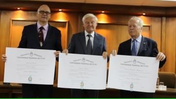 Tras cerrar el II Simposio de Medicina Traslacional, fueron nombrados 3 Honoris Causa