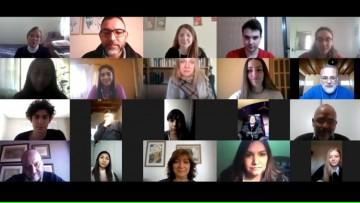 Presentamos a portadores/as y escoltas de banderas del ciclo lectivo 2020