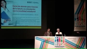 La FCM expuso en FIESA 2018 su experiencia en cursos de alemán para ciencias de la salud