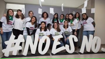 """""""NO ES NO"""", por una Universidad libre de Acoso y Sexismo, en la FCM los días miércoles 26 y jueves 27"""
