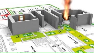 """Curso """"Actuación ante contingencia - Evacuación de edificios educacionales"""""""
