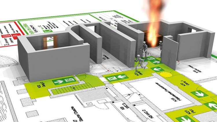 """Capacitación en """"Actuación ante contingencias - Evacuación de edificios educacionales"""""""