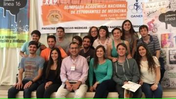 Destacada intervención de nuestra delegación en el XXV Olimpíadas Académicas Nacionales de Medicina