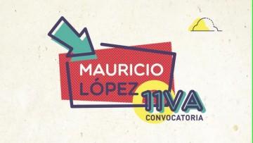 Lanzan la 11va. convocatoria de los Mauricio López