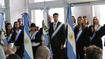 Se llevó adelante el acto de cambio de cuerpo de banderas de la FCM