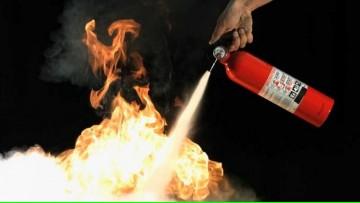 """Curso """"Protección contra incendio - Tipos de fuego - Uso y tipo de extintores"""""""