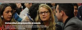 La web de la UNCuyo