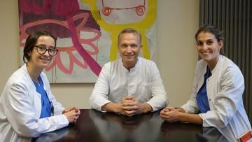 Dos estudiantes de 5to año de Medicina de la FCM en Alemania