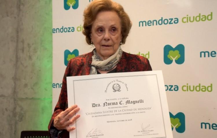Magnelli, Ciudadana Ilustre