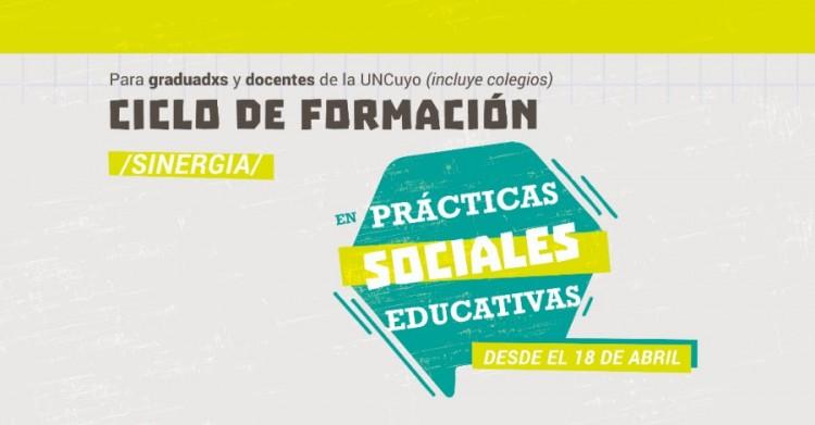 La Extensión universitaria, tema de una formación en Prácticas Sociales Educativas