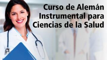 """Extienden la inscripción al curso """"Alemán instrumental para Ciencias de la Salud"""""""