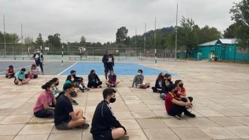 Estudiantes de la FCM participan del Programa de Actividad Física UNCuyo